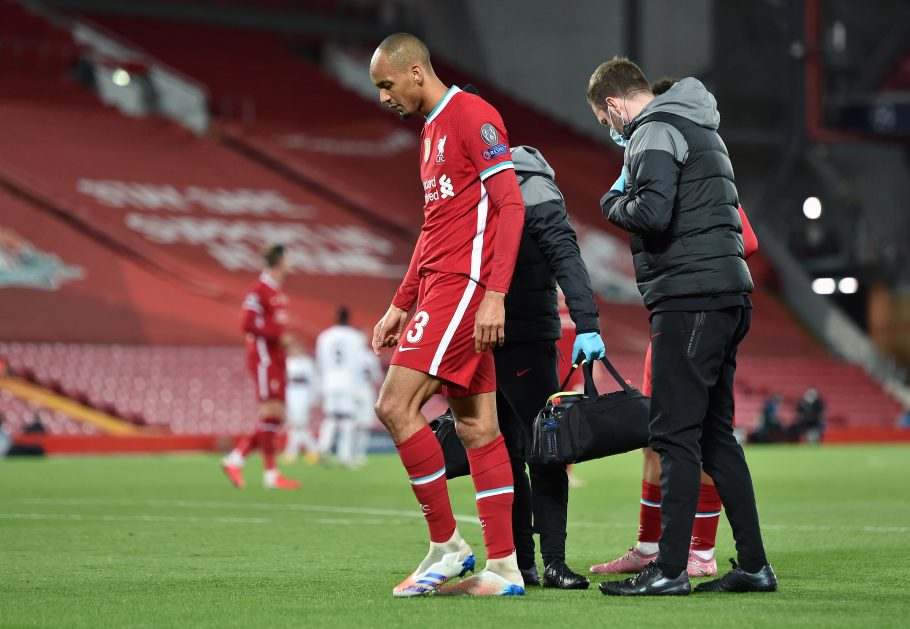 Fabinho returns in midfield and Roberto Firmino not in the squad for Liverpool for RB Leipzig second leg