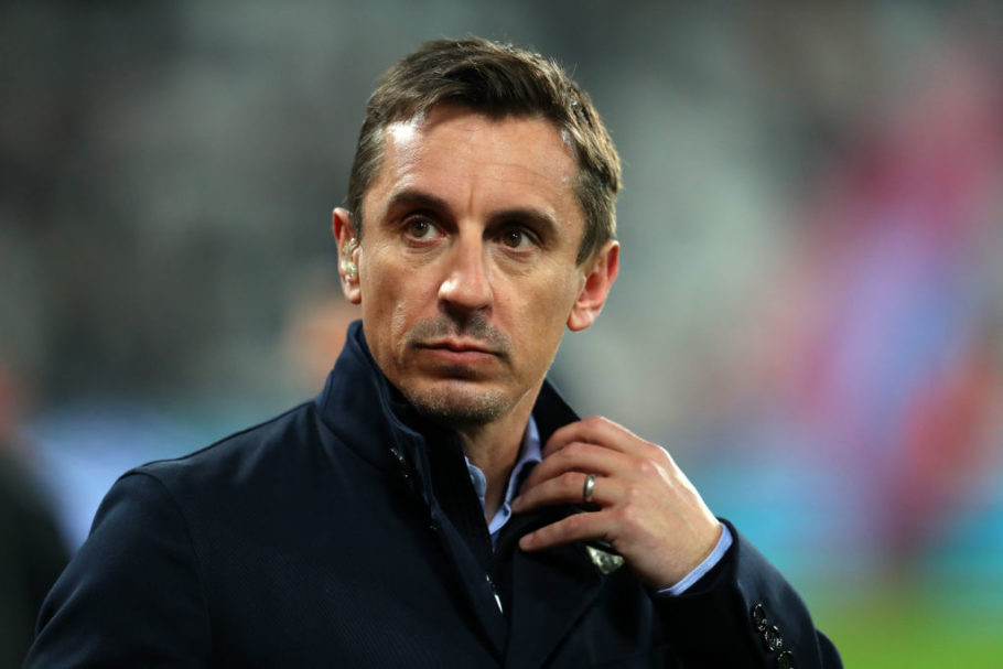 Gary Neville shocked by Manchester United performance in the Derby and Liverpool's collapse