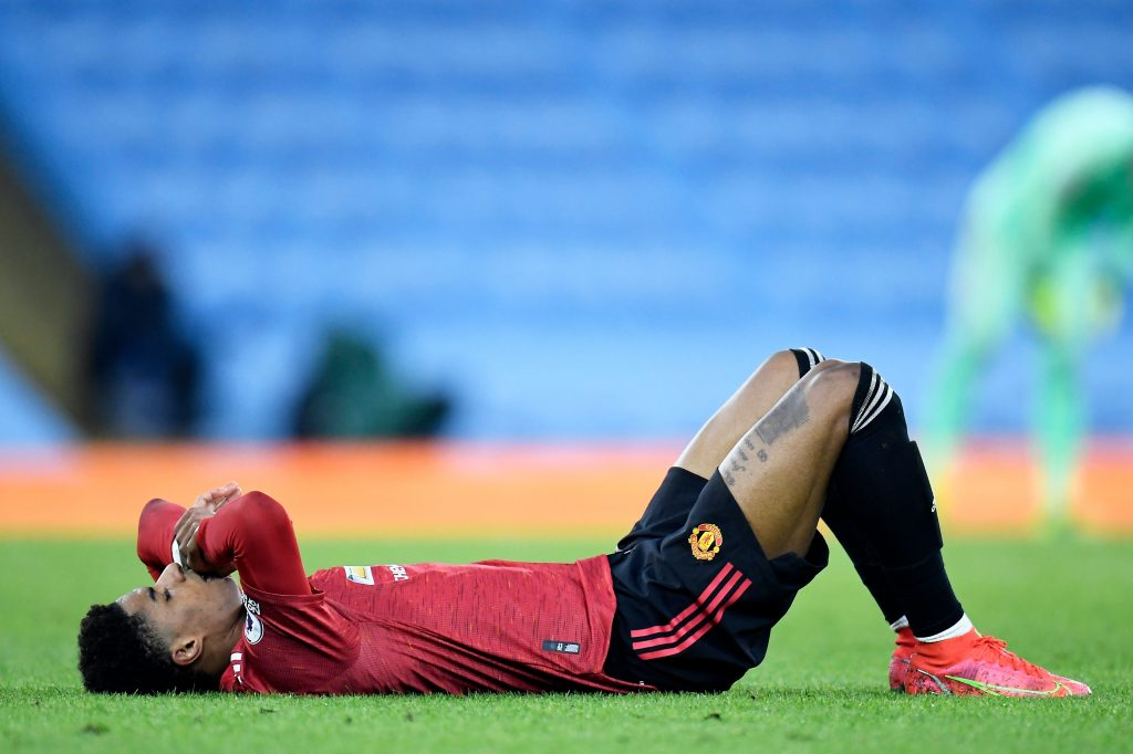 Boost for Man United as Marcus Rashford injury update surfaces