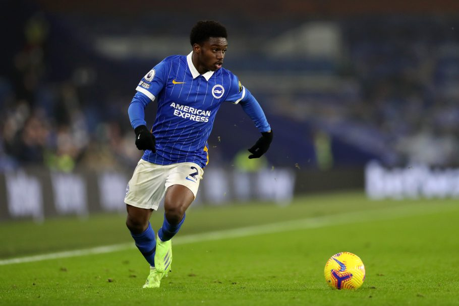 Arsenal target Tariq Lamptey set to miss rest of season for Brighton