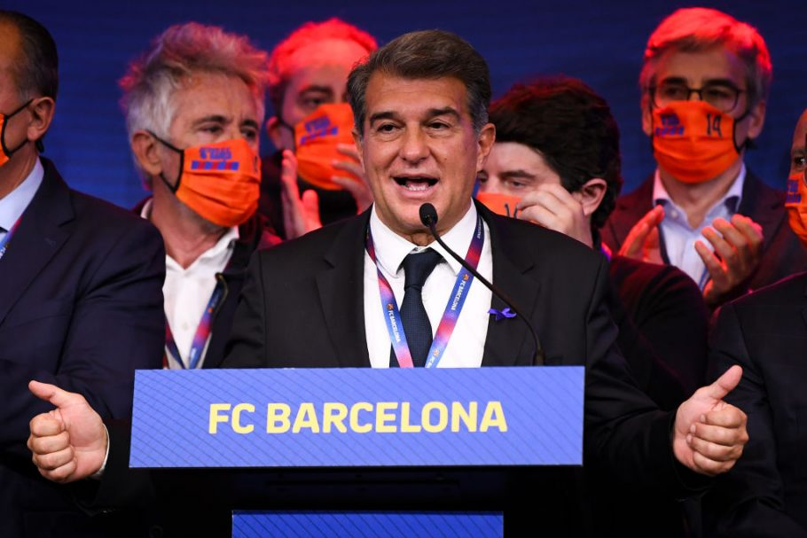 New Barcelona President Joan Laporta wants Lionel Messi to stay, if finances allow it