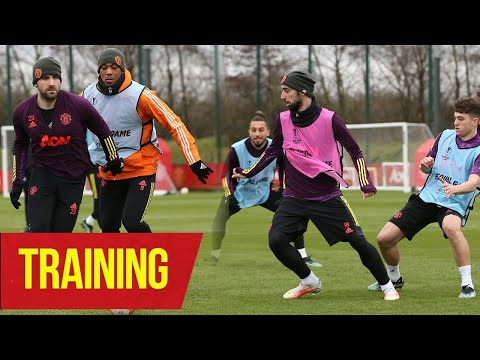 Training | United train ahead of UEFA Europa League clash against AC Milan | Manchester United