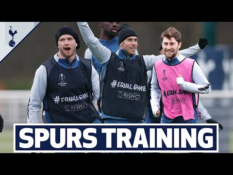 Two touch game goes to the wire! | SPURS TRAIN AHEAD OF DINAMO ZAGREB