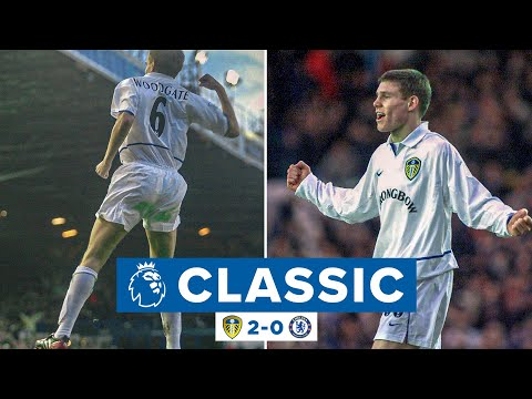 16-year-old James Milner scores stunner! | Leeds United 2-0 Chelsea | Premier League Classic