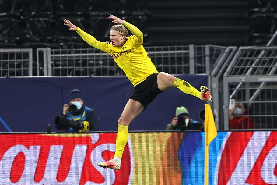 Erling Haaland smashes Harry Kane record to make history (twice) as Dortmund oust Sevilla from Champions League