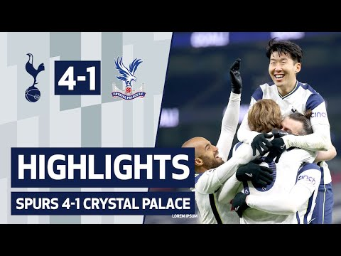 BALE AND KANE DOUBLES DEFEAT PALACE | HIGHLIGHTS | Spurs 4-1 Crystal Palace