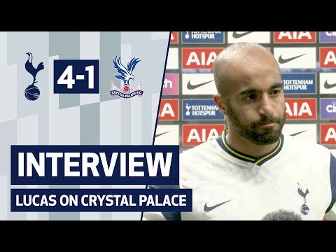 """We dominated the game"" LUCAS ON CRYSTAL PALACE 