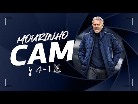 Mourinho's touchline celebrations in fantastic four v Palace! MOURINHO CAM | Spurs 4-1 Palace