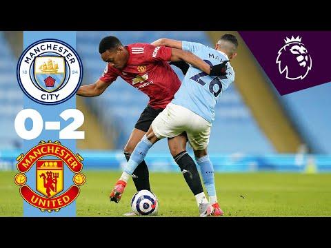 HIGHLIGHTS | MAN CITY 0-2 MAN UNITED